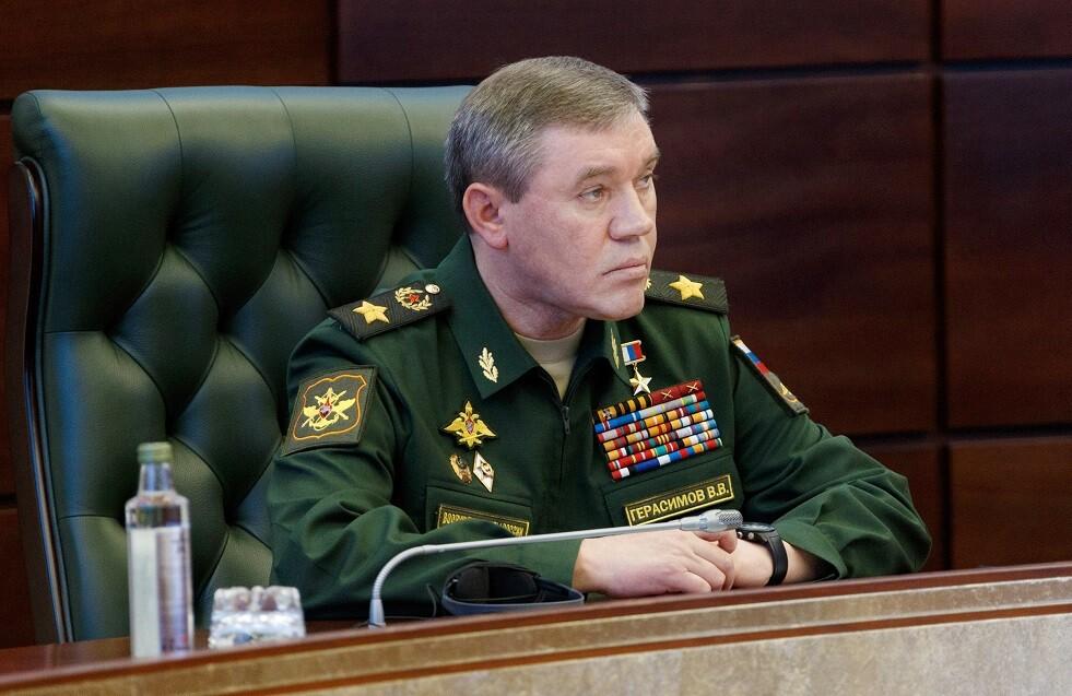 رئيس الأركان العامة للقوات المسلحة - النائب الأول لوزير الدفاع الروسي، فاليري غيراسيموف