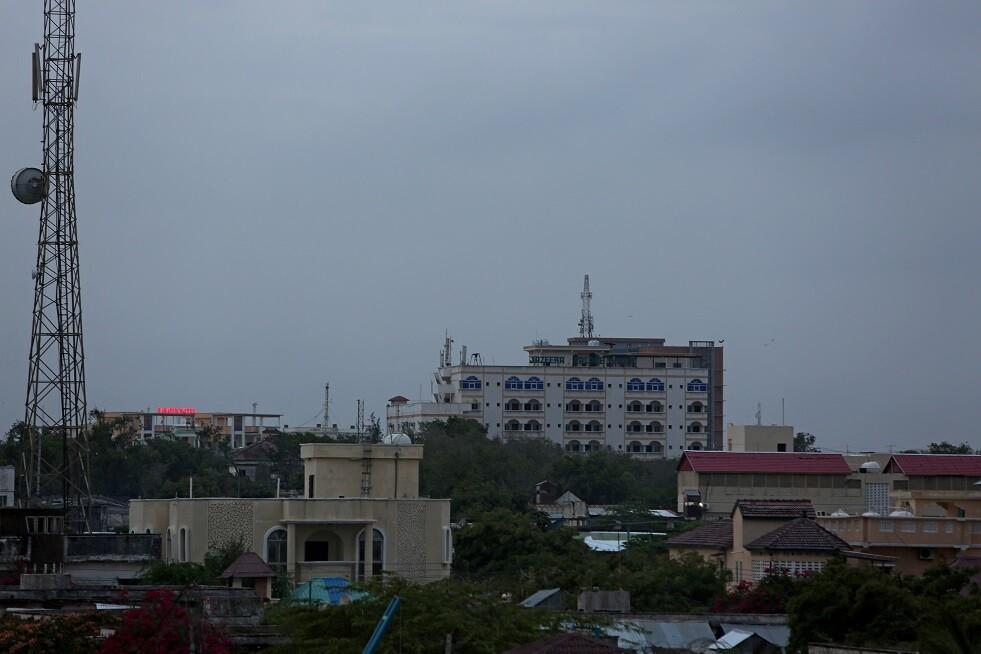 منظر عام لمدينة مقديشو