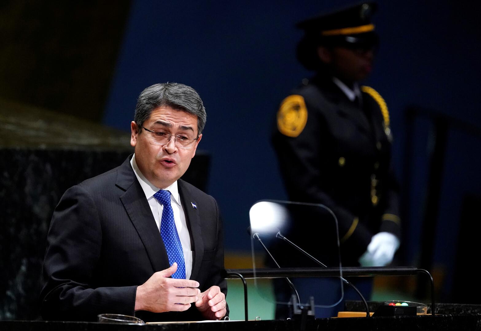 اتهام رئيس هندوراس بتلقي ملايين الدولارات من مهربي المخدرات!