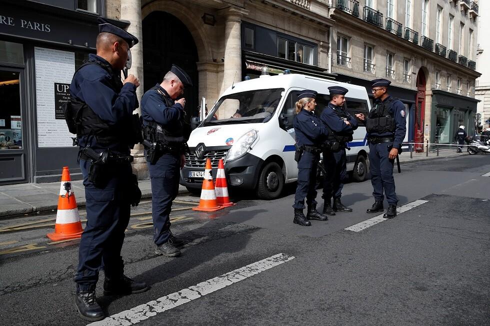رجال شرطة في فرنسا - أرشيف -