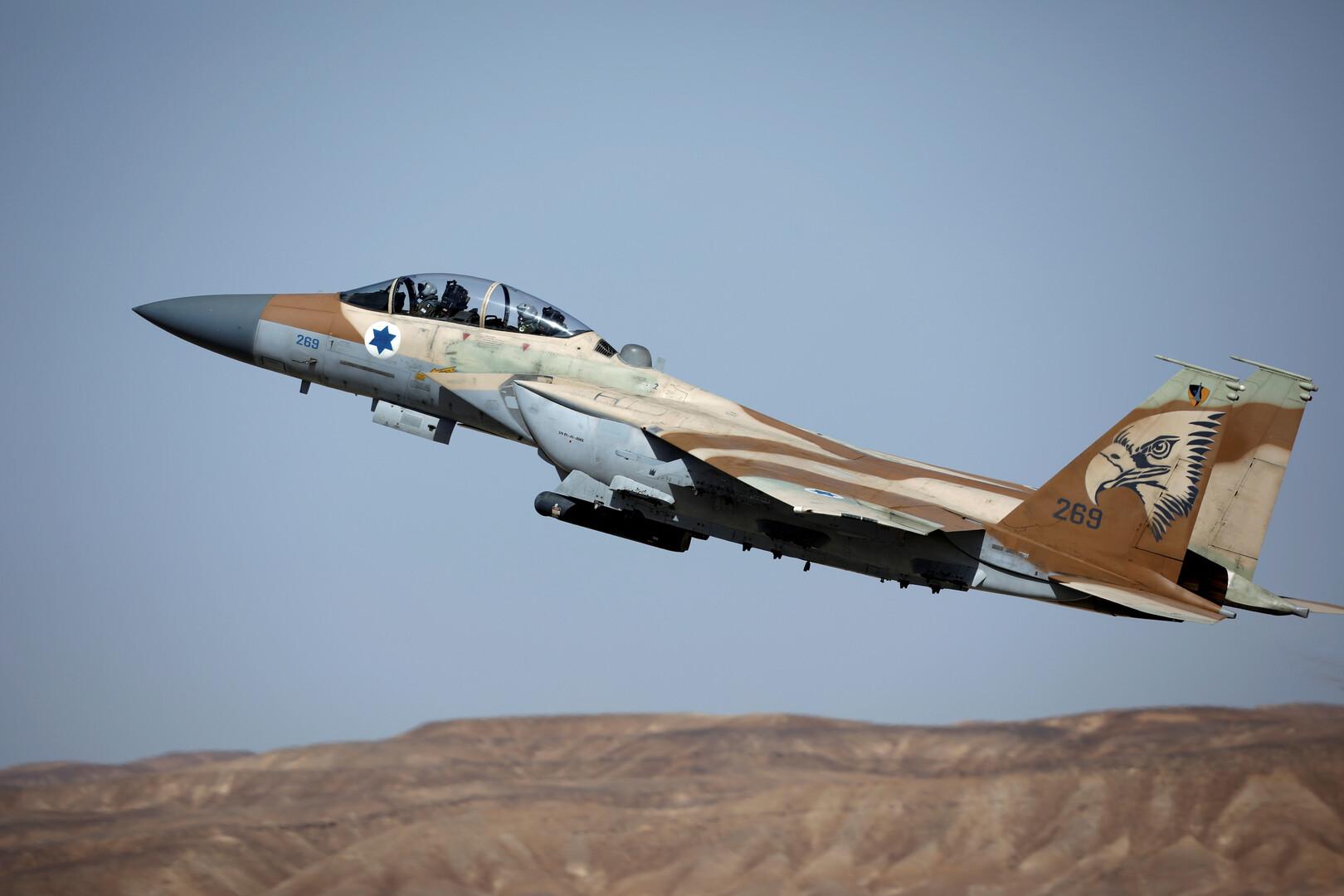 مقاتلة إسرائيلية