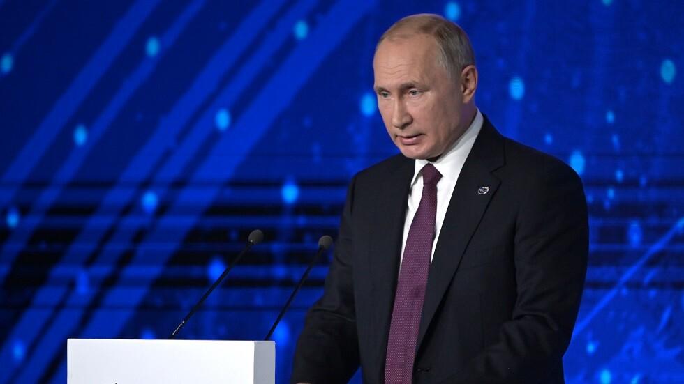 بوتين: واثق من أن زيلينسكي يسعى للسلام في أوكرانيا