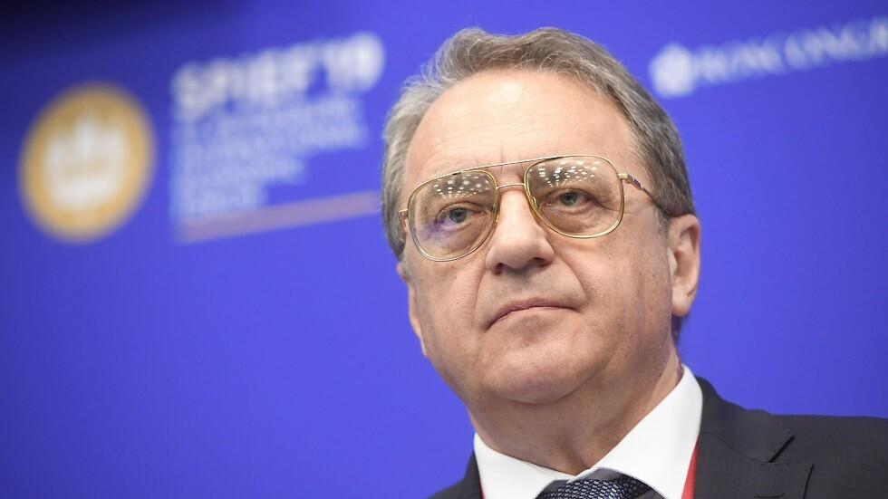 المبعوث الخاص للرئيس الروسي إلى الشرق الأوسط، نائب وزير الخارجية ميخائيل بوغدانوف