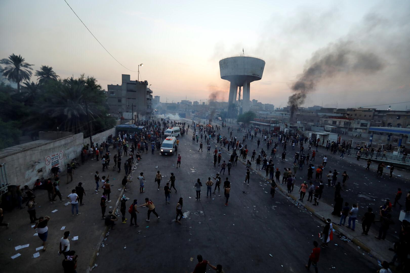 نائب عراقي: فشل الاجتماع بين رئيس البرلمان والمتظاهرين