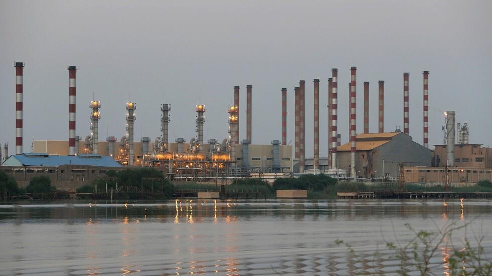 منشأة لتكرير البترول جنوب إيران