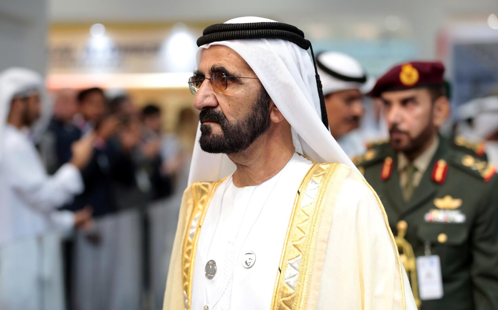 حاكم دبي ونائب رئيس الإمارات، الشيخ محمد بن راشد آل مكتوم