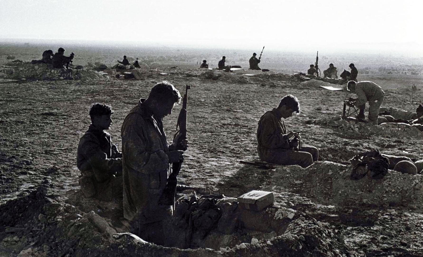 جنود إسرائيليون عام 1973