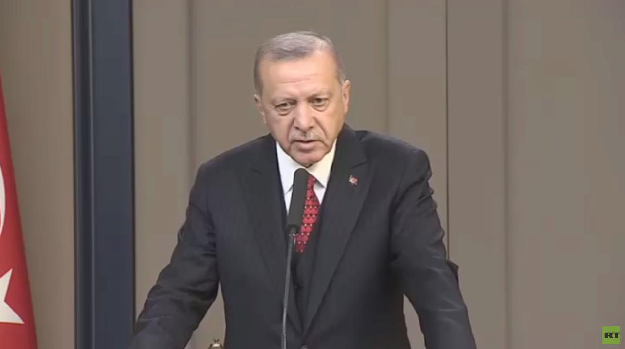 أردوغان: سنشن عملية عسكرية شرق الفرات
