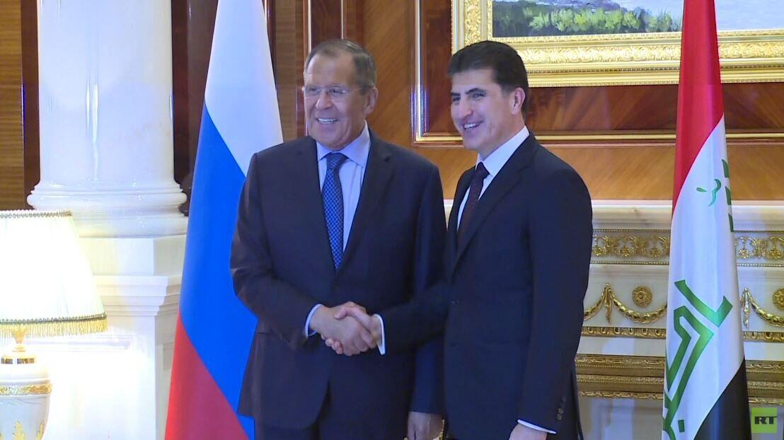 لافروف يؤكد لقيادات كردستان العراق عزم روسيا تعزيز التعاون مع الإقليم