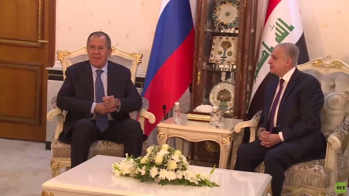 لافروف: سننفذ عقود السلاح مع العراق