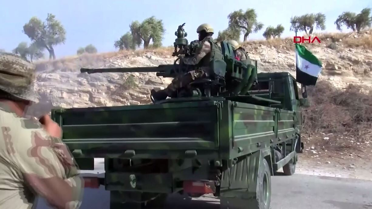 شاهد.. تدريبات الجيش الوطني السوري قرب عفرين قبيل عملية عسكرية تركية مرتقبة