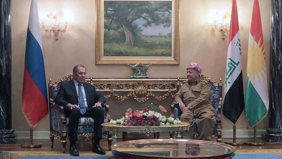 أكراد العراق يطلبون من لافروف استخدام نفوذ موسكو لمنع تعرض أكراد سوريا للأذى من الأتراك