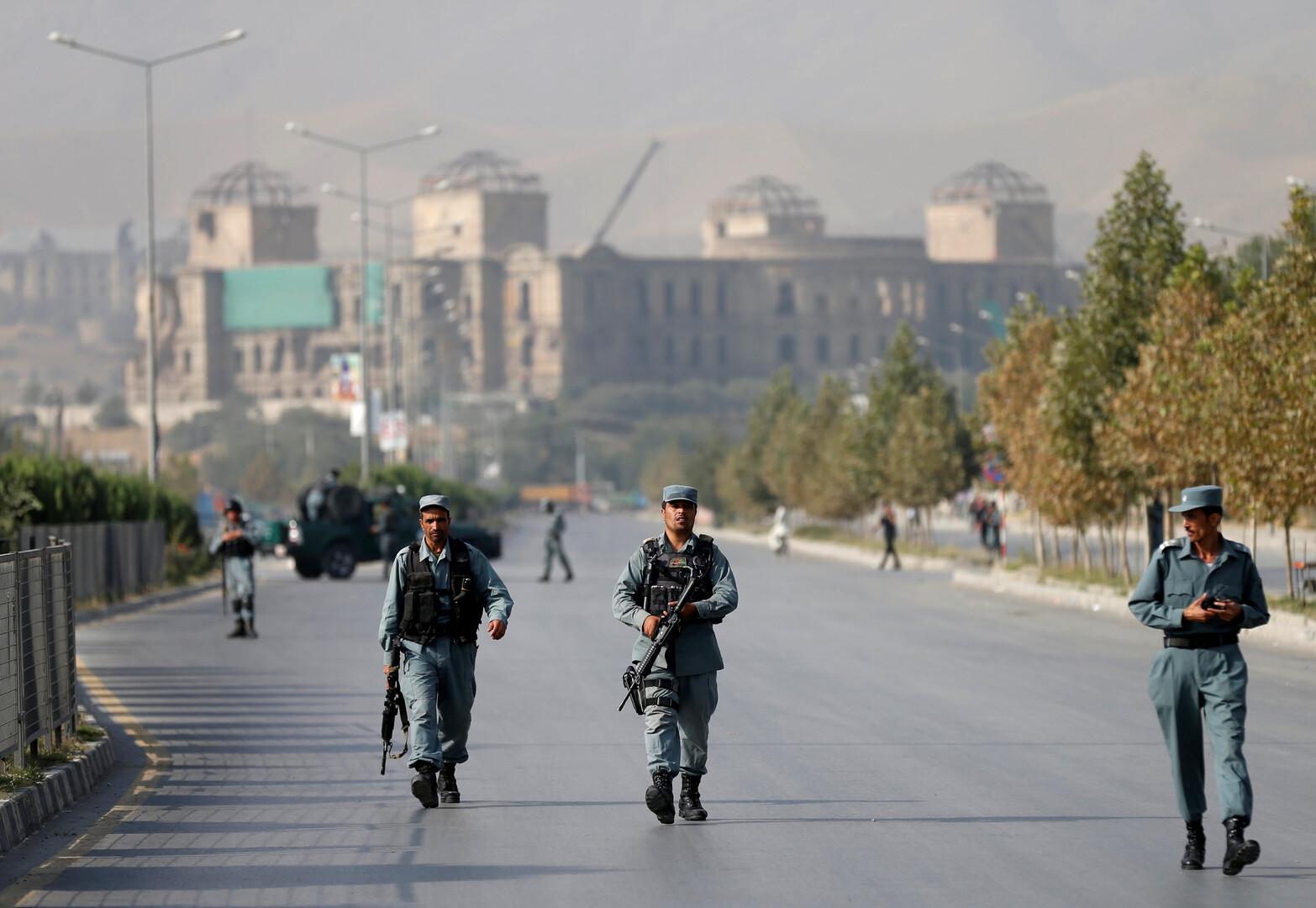 رجال أمن أفغان- أرشيف