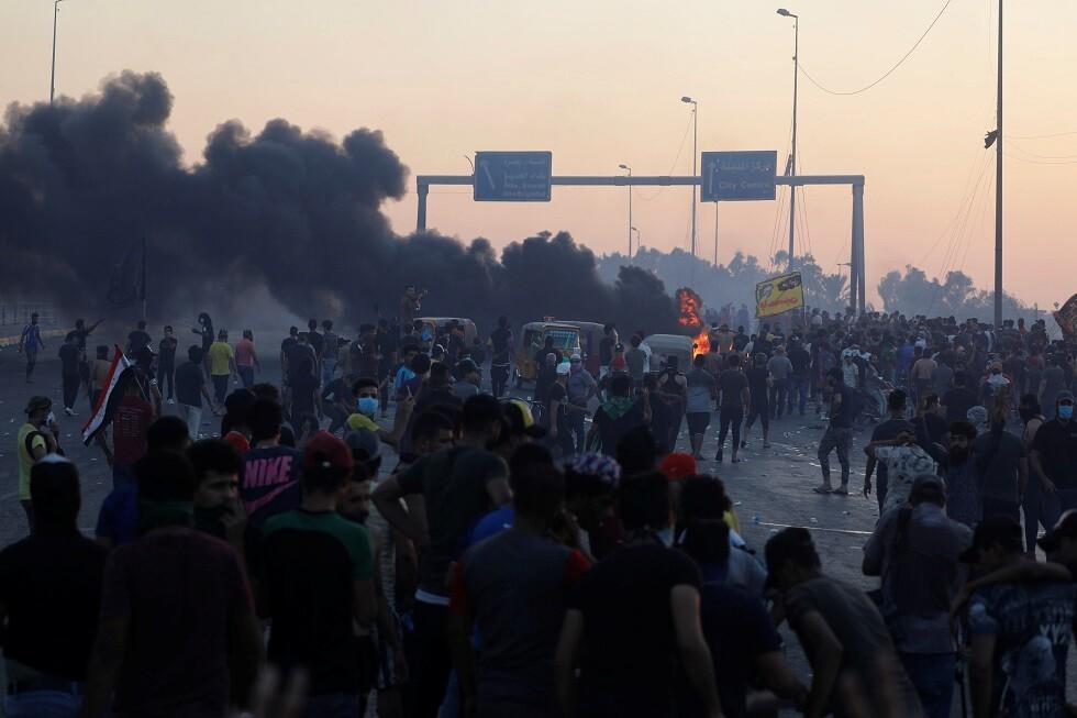 العراق يندلع من جديد.. احتجاجات ضد الفساد والبطالة