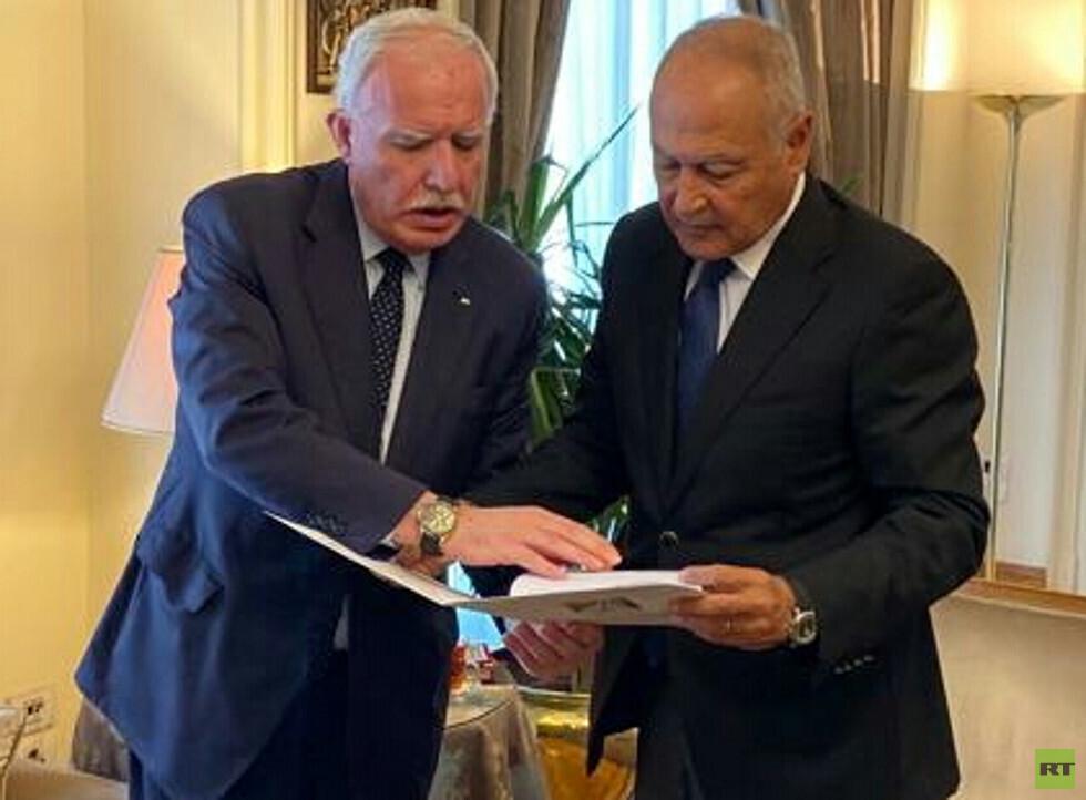 فلسطين تسلم الجامعة العربية ملف ترسيم حدودها البحرية