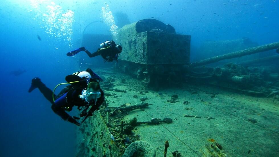 صورة أرشيفية لإحدى السفن الغارقة