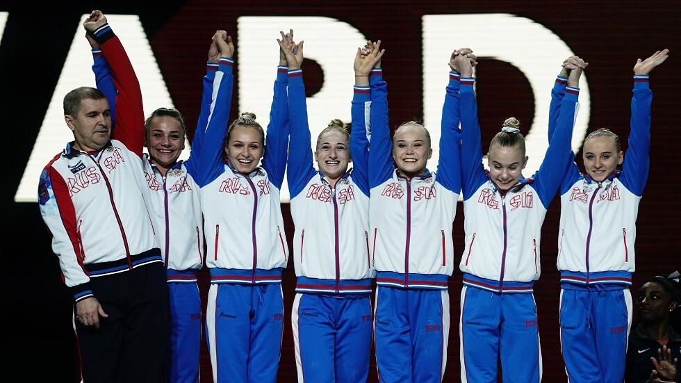 روسيا تحرز فضية الفرق في بطولة العالم للجمباز