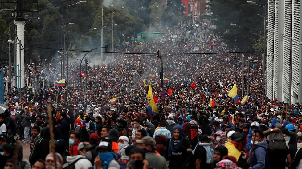سبع دول في أمريكا اللاتينية تتهم مادورو بزعزعة الوضع في الإكوادور