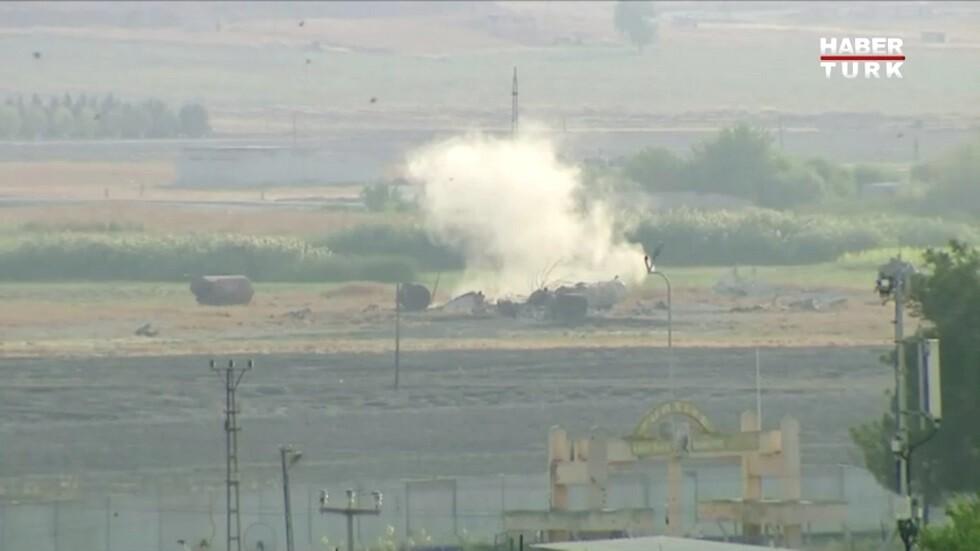 القصف التركي على شمال سوريا
