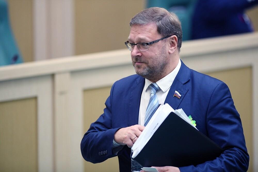 رئيس لجنة الشون الدولية في مجلس الاتحاد الروسي، قسطنطين كوساتشوف
