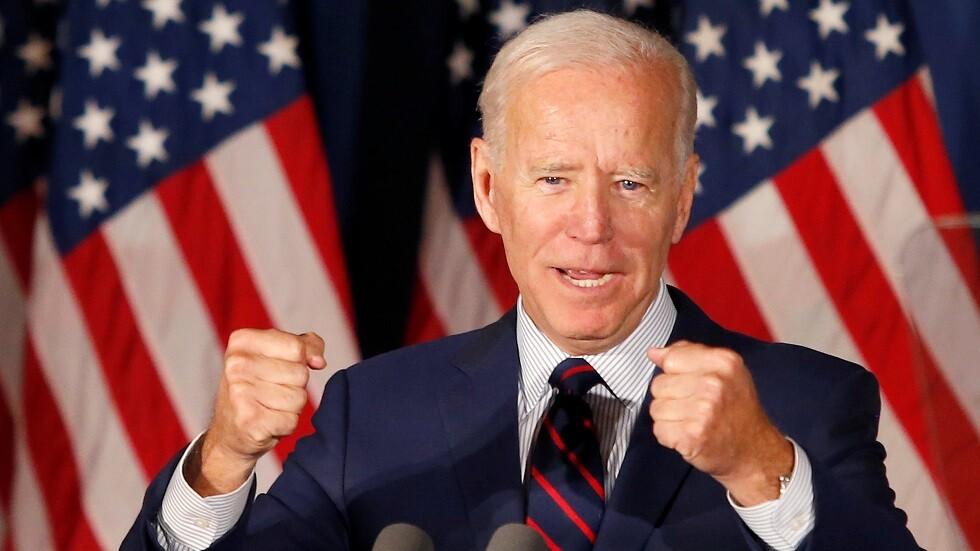 المرشح المحتمل لانتخابات الرئاسة الأمريكية المقبلة جو بايدن