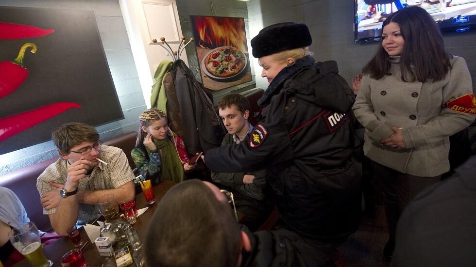 تغريم أبوي الأطفال المدخنين  في روسيا