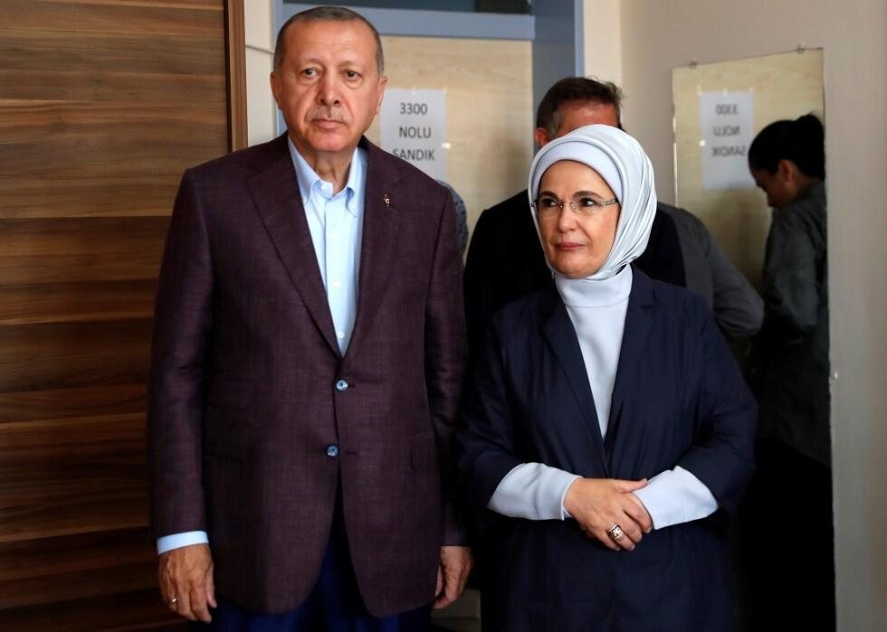 أردوغان يستحضر أصول زوجته العربية أثناء حديثه عن عملية