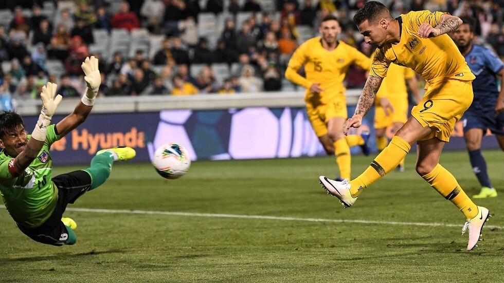 أستراليا تقسو على نيبال بخماسية في التصفيات الآسيوية المؤهلة لمونديال قطر