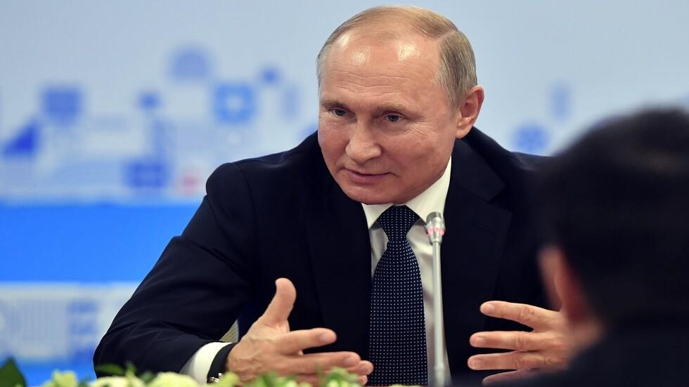 بوتين يدعو لمحاربة الإدمان على الكحول