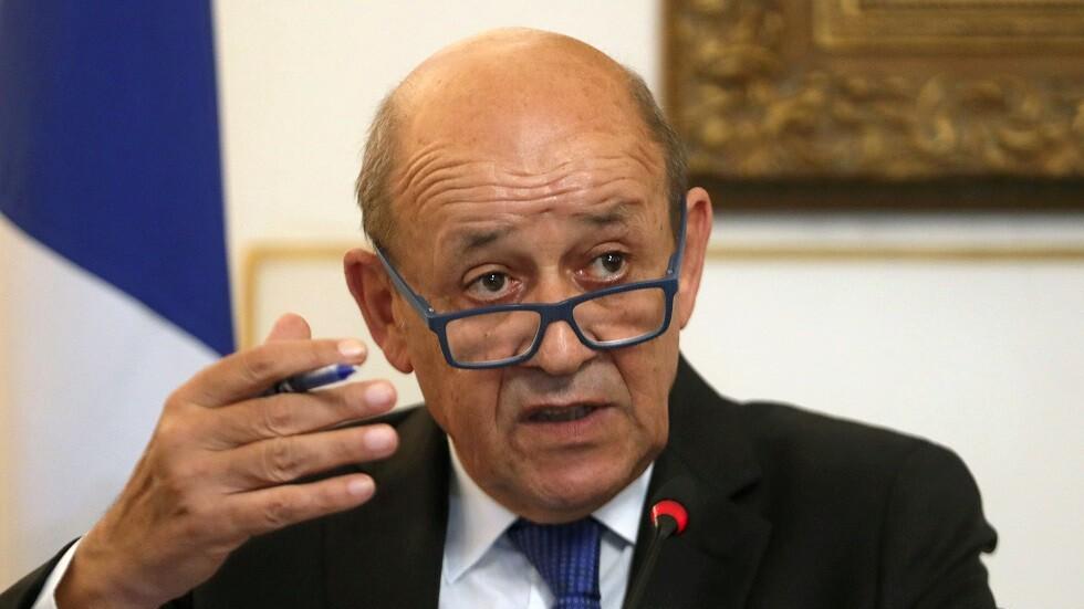 وزير الخارجية الفرنسي يدعو لاجتماع طارئ للتحالف الدولي