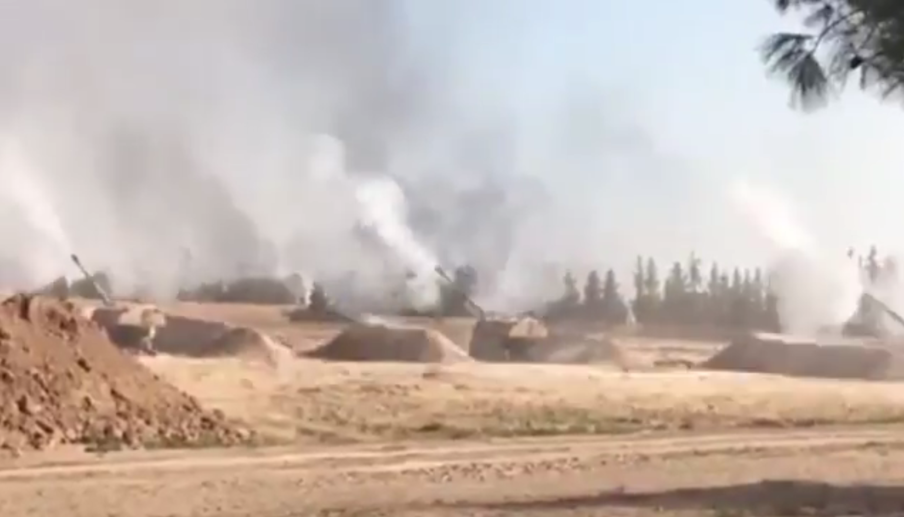 المدفعية التركية تضرب مواقع كردية في سوريا