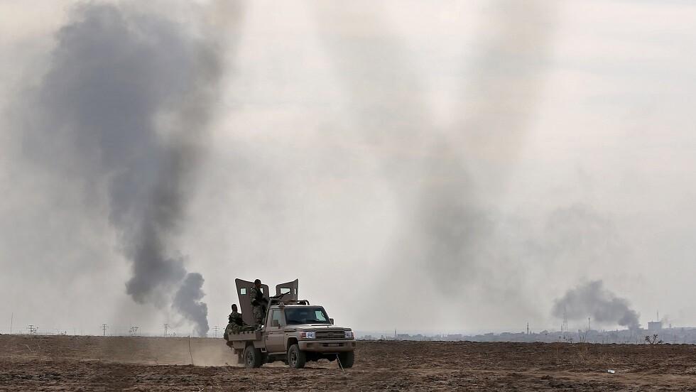 مقتل 8 أشخاص بهجوم لوحدات كردية في بلدة حدودية تركية