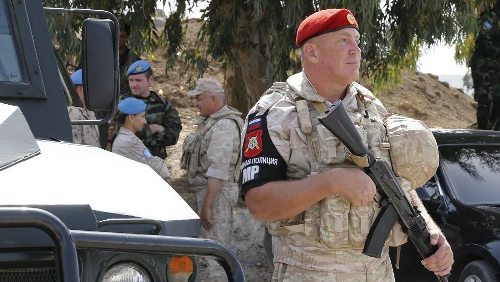 الشرطة العسكرية الروسية في سوريا (صورة من الأرشيف)