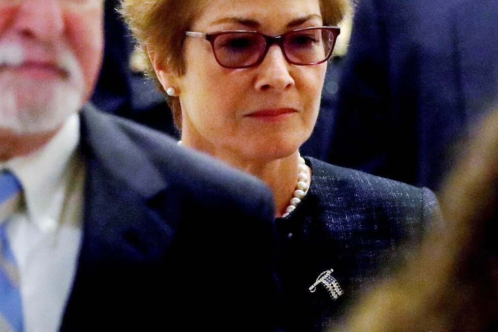 السفيرة الأميركية السابقة في أوكرانيا ماري يوفانوفيتش