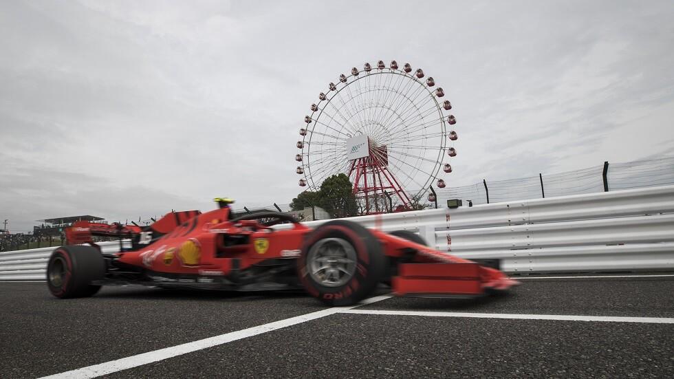 مخاوف من عدم تنظيم سباق جائزة اليابان الكبرى بسبب الإعصار