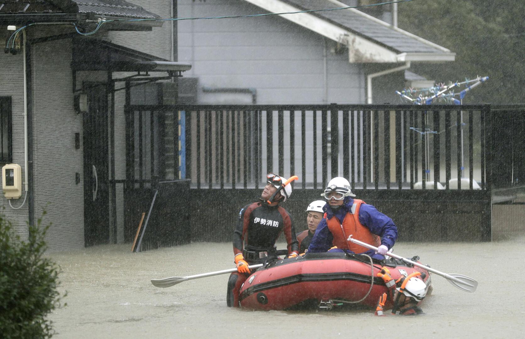 قتيل ومفقودون جراء إعصار