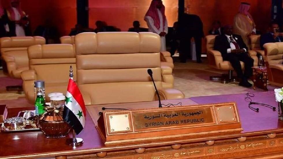 العراق يعتزم طرح مسألة عودة سوريا للجامعة العربية رسميا