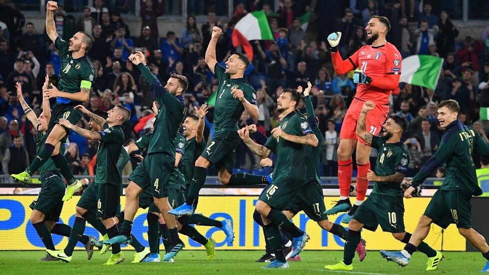 إيطاليا ثاني المتأهلين لـ