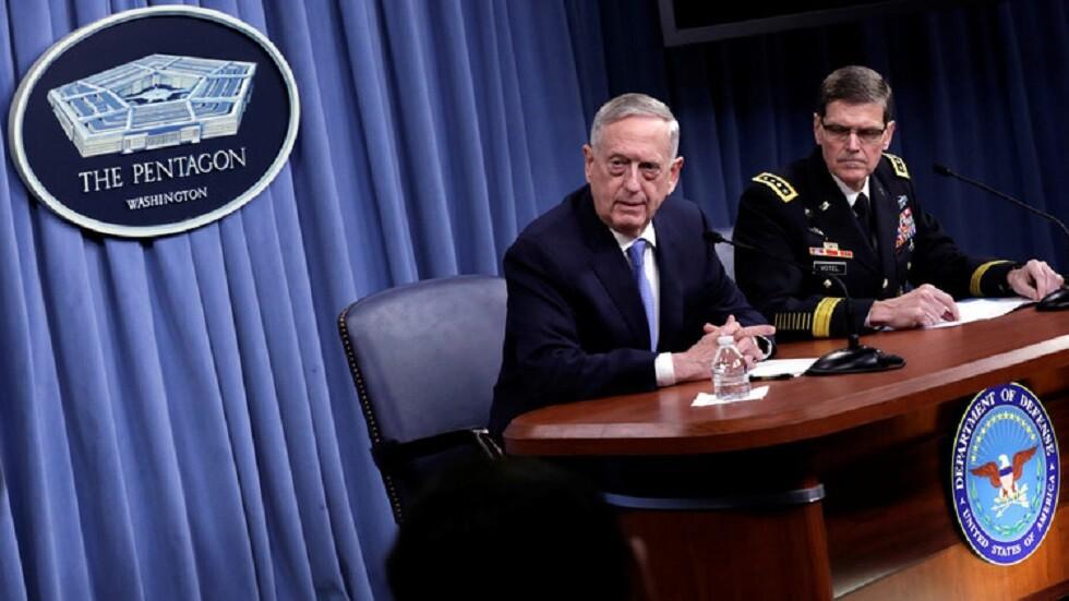 ماتيس: سحب قواتنا من سوريا بسبب العملية التركية سيؤدي إلى صعود
