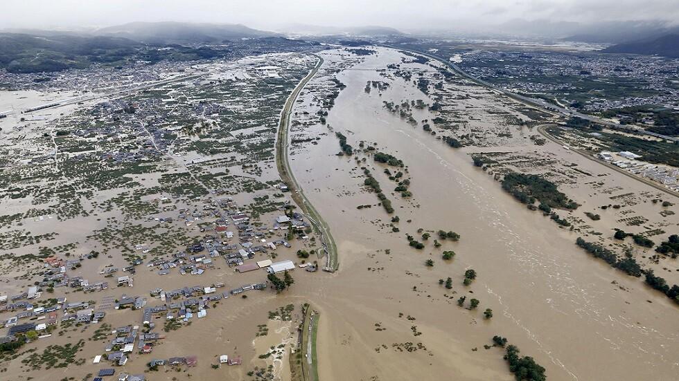 اليابان.. ارتفاع حصيلة ضحايا إعصار