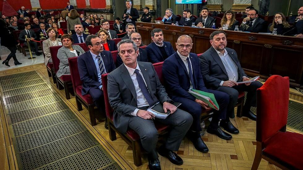 إسبانيا بصدد إصدار أحكام مطوّلة على زعماء كتالونيين