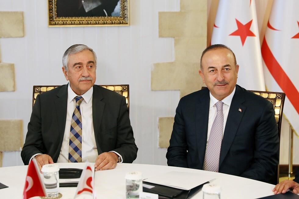 أنقرة تدين توصيف زعيم شمال قبرص