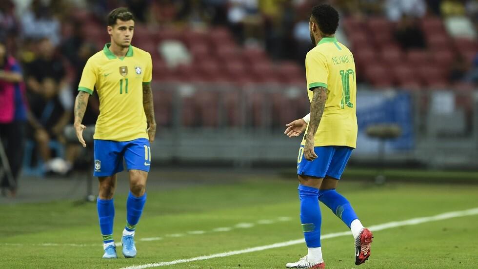 نيمار يخرج مصابا من مواجهة البرازيل ونيجيريا (فيديو)
