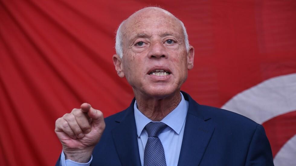المرشح الرئاسي التونسي قيس سعيد