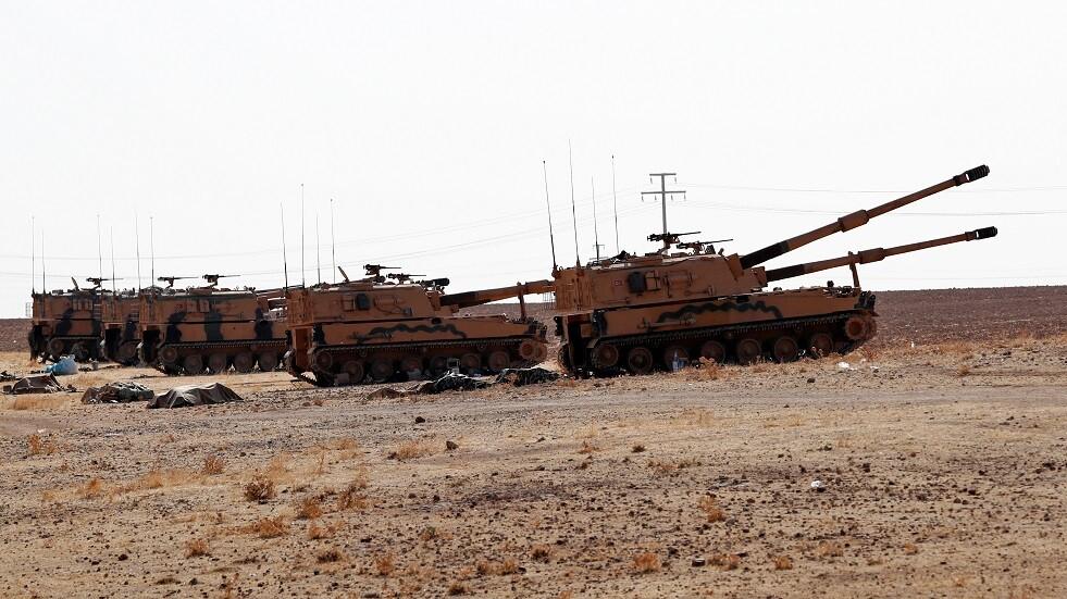 عربات تركية في شمال سوريا - أرشيف