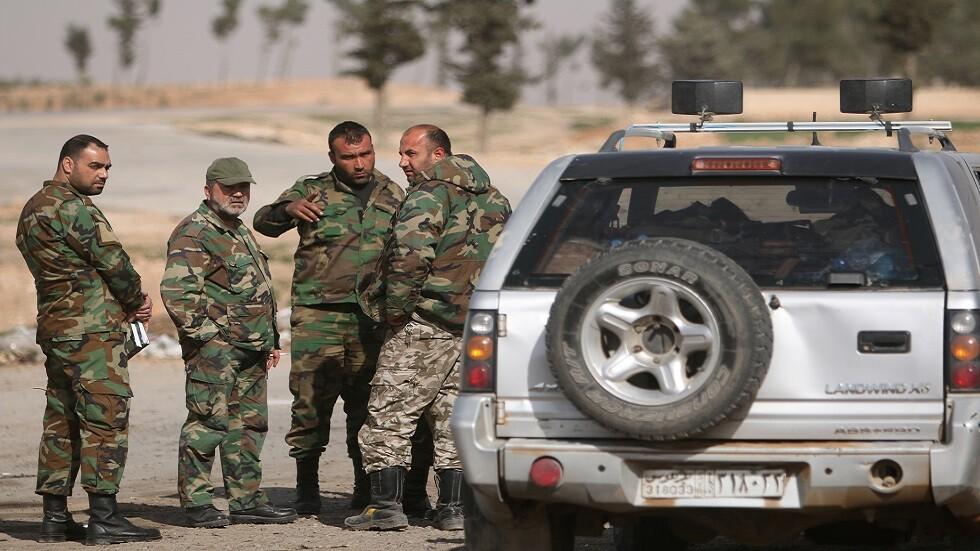 عناصر من الجيش السوري في منبج (صورة أرشيفية)