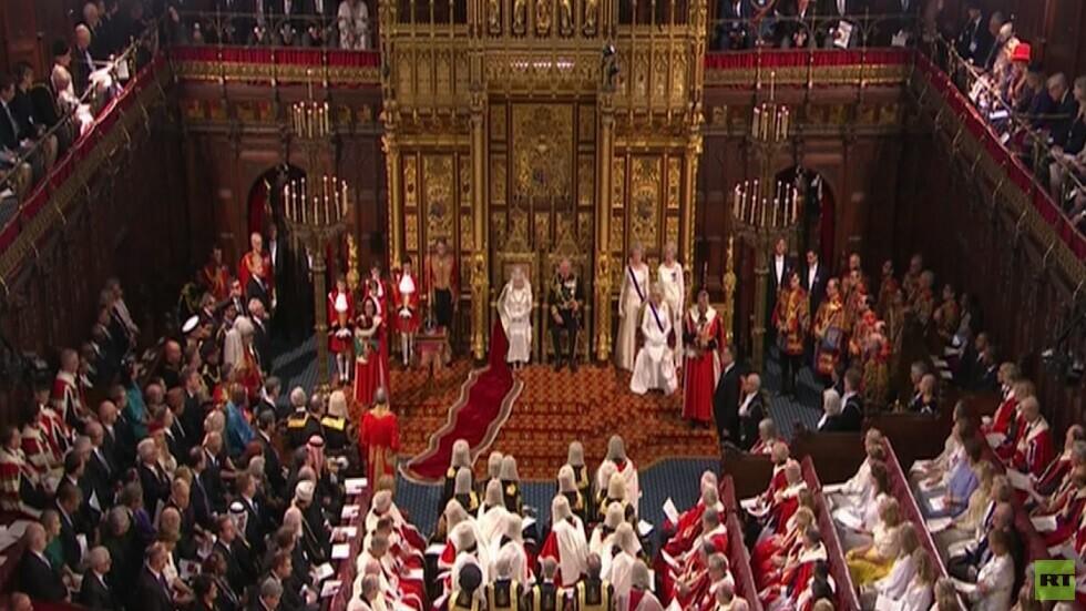 خطاب إليزابيث الثانية بمجلس العموم