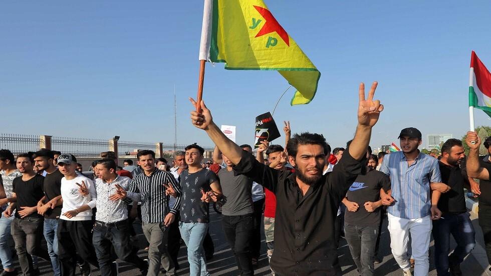 مسيرات في كردستان العراق احتجاجا على العملية التركية في سوريا