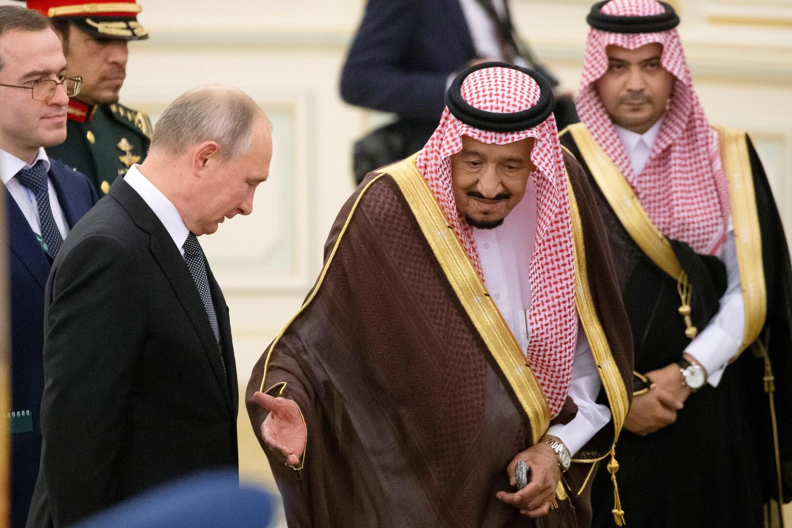 الملك سلمان يؤكد دعمه للتعاون مع الصندوق الروسي للاستثمارات المباشرة