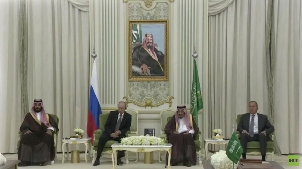 قمة بين بوتين والملك سلمان في الرياض